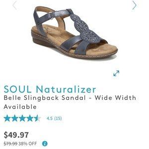 SOUL Naturalizer Belle Slingback Sandal